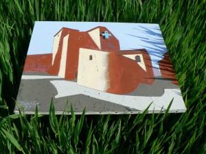 chapelle dans vert basse def